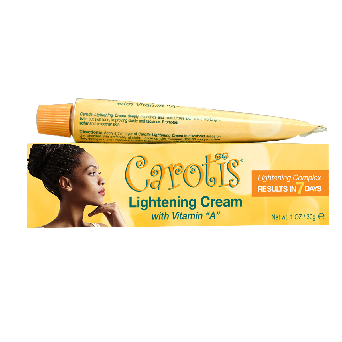 Carotis Lightening Cream w/ Vitamin A 1 oz