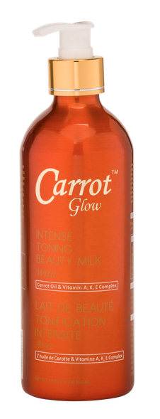 Carrot Glow Intense Toning Beauty Milk 16.8 oz