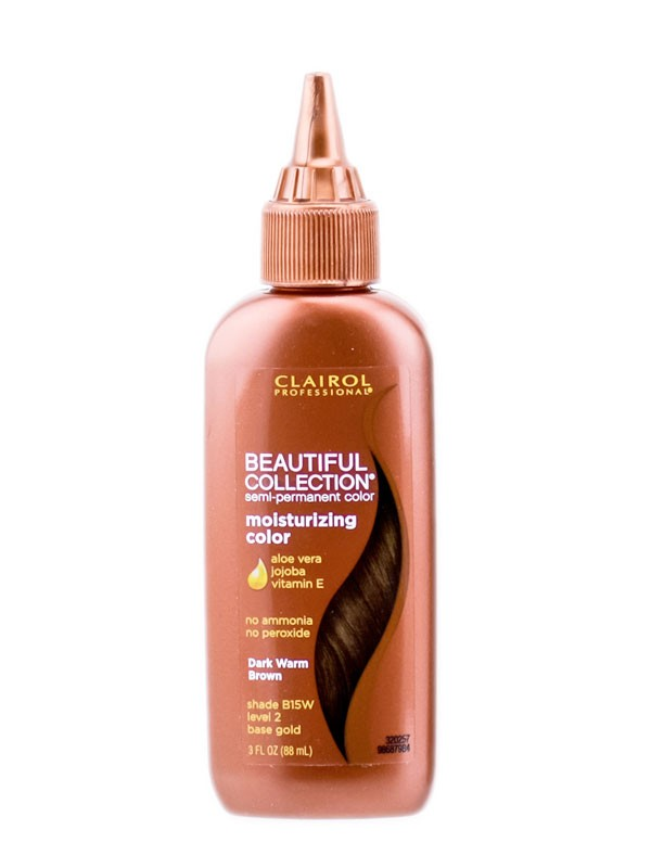 Clairol Beautiful Collection Semi-Permanent Hair Color-B15W DARK WARM BROWN