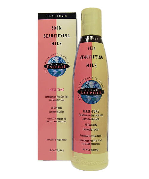 CLEAR ESSENCE-SKIN BEAUTIFYING MILK MAXI TONE 8 OZ