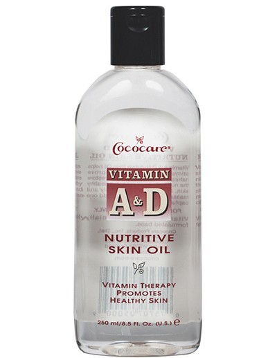 COCOCARE Vitamin A & D Nutritive Skin Oil 8.5 Oz