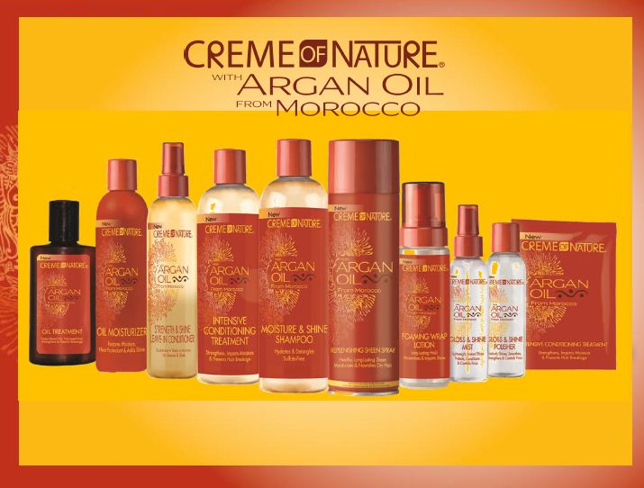 Creme of Nature Argan Oil Foam Wrap Lotion 7 oz