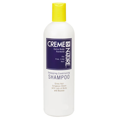 CREME OF NATURE DETANGLING CONDITIONING SHAMPOO FOR FINE HAIR 15.2 OZ