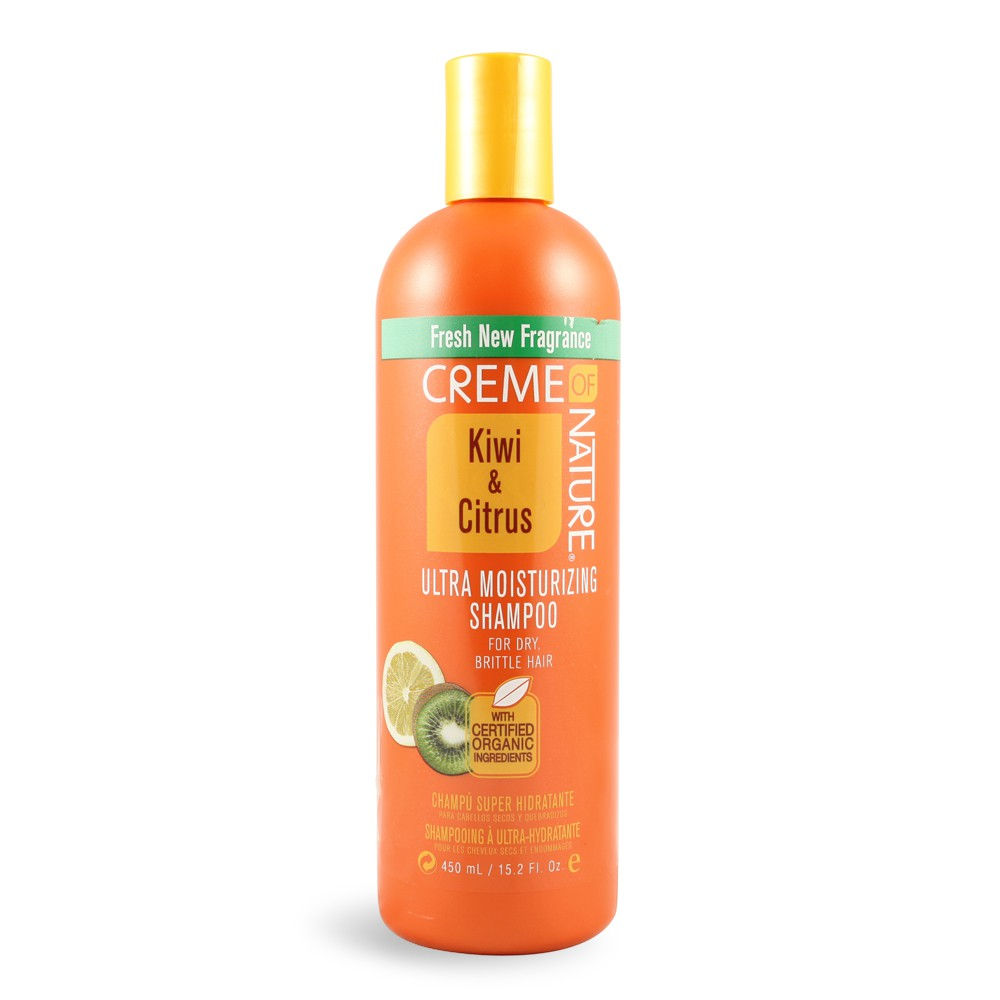 CREME OF NATURE KIWI & CITRUS MOISTURIZING SHAMPOO