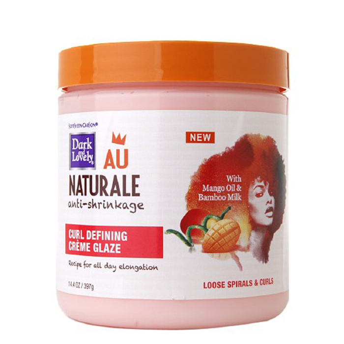 Dark and Lovely Au Naturale Curl Defining Crème Glaze 14.4 oz