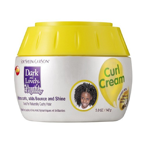 Dark and Lovely Beautiful Beginnings Curl Cream 5 oz