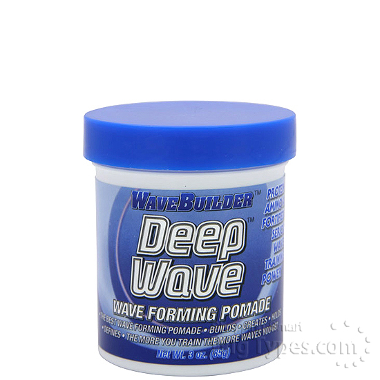 Wave Builder DEEP WAVES WAVE FORMING POMADE 3 OZ