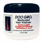 DOO GRO MEDICATED HAIR VITALIZER EXTRA LIGHT ORIGINAL FORMULA 4OZ