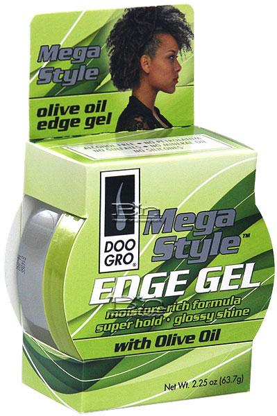 DOO GRO Mega Style Edge Gel With Olive Oil 2.25 oz