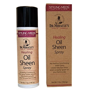 DR MIRACLE'S HEALING OIL SHEEN SPRAY 7OZ