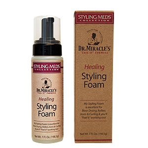 DR MIRACLE'S Healing Styling Foam 7OZ