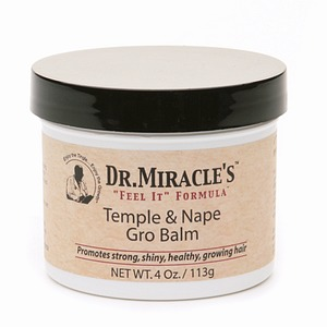 DR MIRACLE TEMPLE & NAPE GRO BALM 4OZ