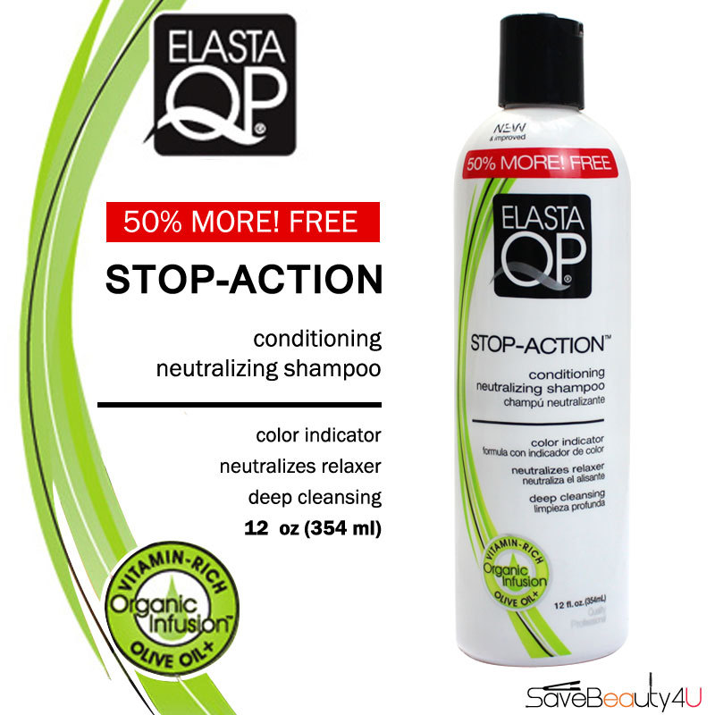 Elasta QP Stop Action Neutralizing Shampoo 12 oz