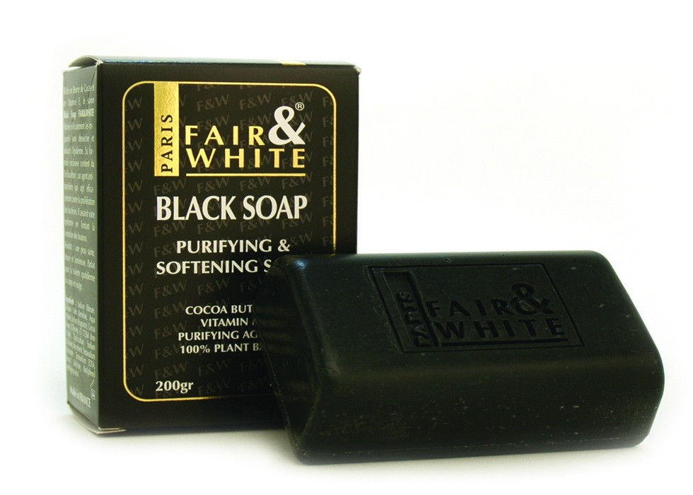 Black and white soap reviews