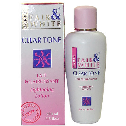 Fair and White Clear Tone Lightening Lotion 8.8oz