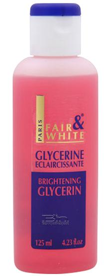 FAIR & WHITE BRIGHTENING GLYCERINE 4.23 OZ