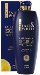 Fair and White EXCLUSIVE Whitenizer VITAMIN C Body Lotion 17 OZ