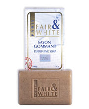 FAIR & WHITE EXFOLIATING SOAP 7 OZ
