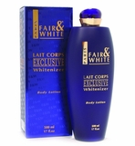 FAIR and WHITE LAIT CORPS WHITENIZER BODY LOTION 17 OZ