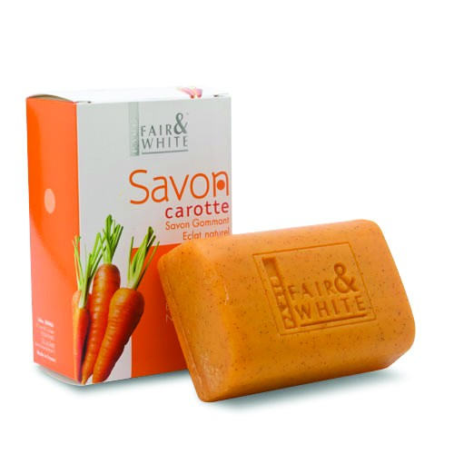 FAIR & WHITE SAVON CARROT EXFOLIATING SOAP 7 OZ