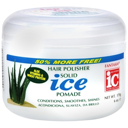 Fantasia IC Hair Polisher Solid Ice Pomade 6oz