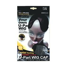Fitt Center Parting U Part Wig Cap With Invisible Lace Front