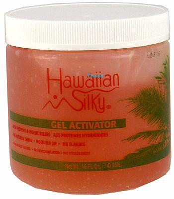 HAWAIIAN SILKY GEL ACTIVATOR WITH PROTEIN MOISTURIZERS 16 OZ