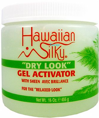 HAWAIIAN SILKY GEL ACTIVATOR WITH SHEEN 16 OZ