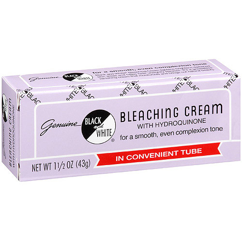 Genuine Black And White Bleaching Cream