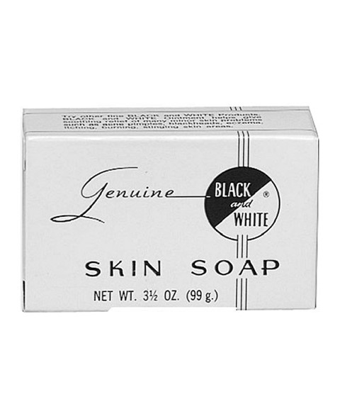 Genuine Black and White Skin Soap 99g