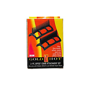 Gold N Hot 2pc Offset comb Attachment Set GH3202 & GH2275
