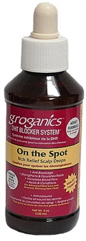 GROGANICS ON THE SPOT ITCH RELIEF SCALP MEDICINE DROPS 4oz
