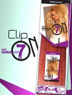 Hollywood 100% Human Remy Hair Extension - Clip-On 7 18 INCHES