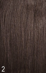 HOLLYWOOD REMY 100% HUMAN INVISIBLE WEAVE PART HAIR CLOSURE
