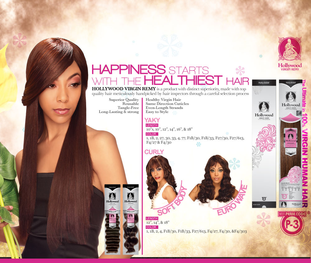 HOLLYWOOD VIRGIN REMY SOFT BODY