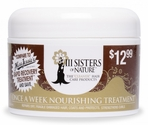 III Sisters Of Nature Once A Week Nourishing Treatment 8 oz
