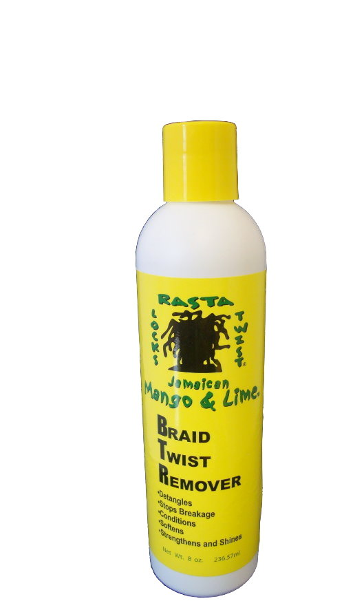 Jamaican Mango & Lime Braid Twist Remover 8 oz