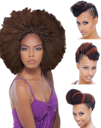 Janet Collection Afro Kinky Bulk Hair 24""