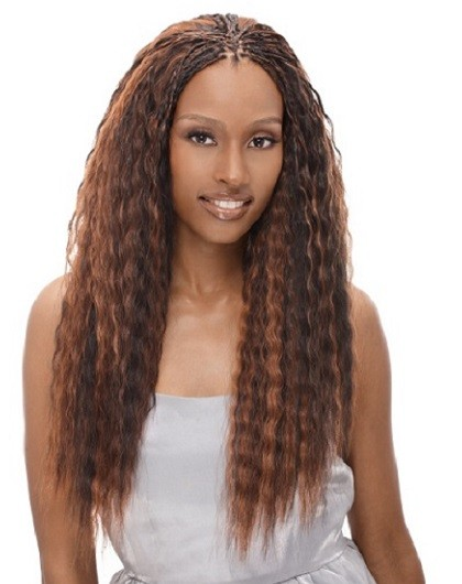 Janet Collection Denga Super French Bulk Wet N Wavy Braiding Hair