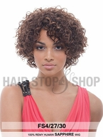 Janet Collection Remy Human Hair Wig SAPPHIRE
