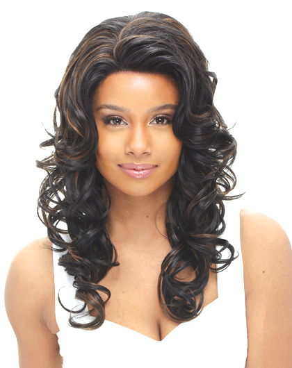 Janet Collection Tear Away Synthetic Whole Lace Wig JANET