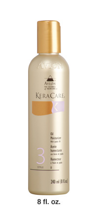 KERACARE OIL MOISTURIZER WITH JOJOBA OIL 8 OZ