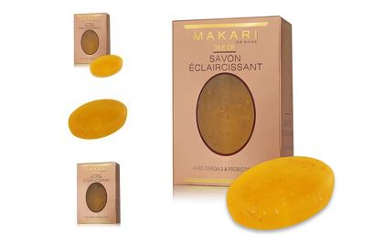 MAKARI 24K GOLD SAVON LIGHTENING SOAP 5 oz