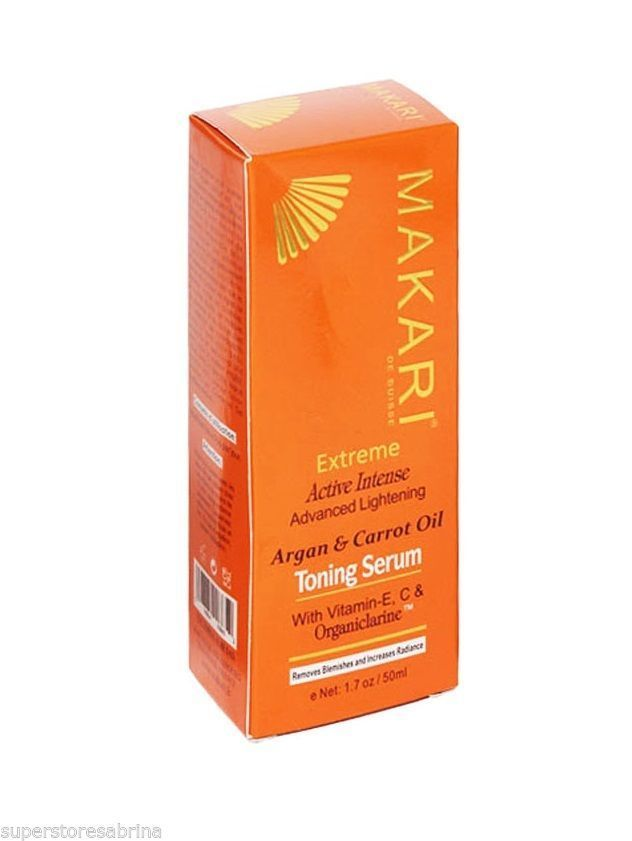 Makari EXTREME Carrot And Argan Oil Intense Lightening Toning Serum 1.7 oz