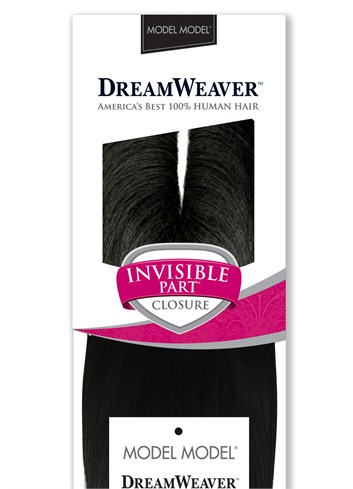 MODEL MODEL DREAMWEAVER INVISIBLE PART CLOSURE 10 & 12