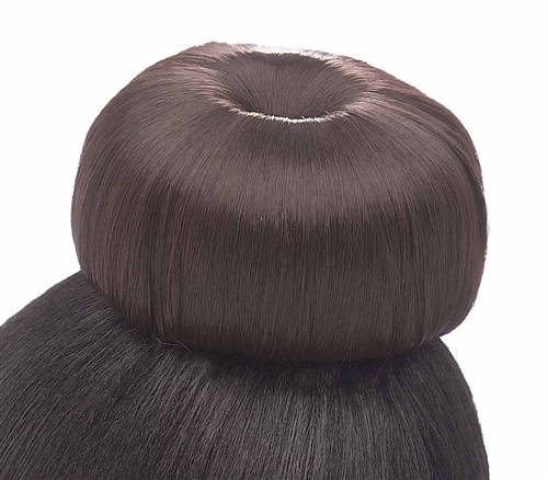 MODEL MODEL GLANCE Synthetic Hair Bun BLUEBERRY- LARGE