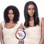 "Model Model Nude Fresh Wet & Wavy 100% Virgin Remy Weaving Bohemian Curl 7PCS ( 10"",12"",14"" )"