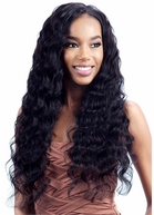 Model Model NUDE LEAF BRAZILIAN REMY NATURAL LONG LOOSE DEEP 7 Pcs