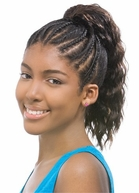 MODEL MODEL Synthetic Drawstring PonyTail Superteen