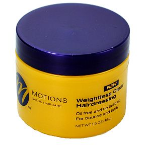 Motions Weightless Clear Hairdressing 6 OZ